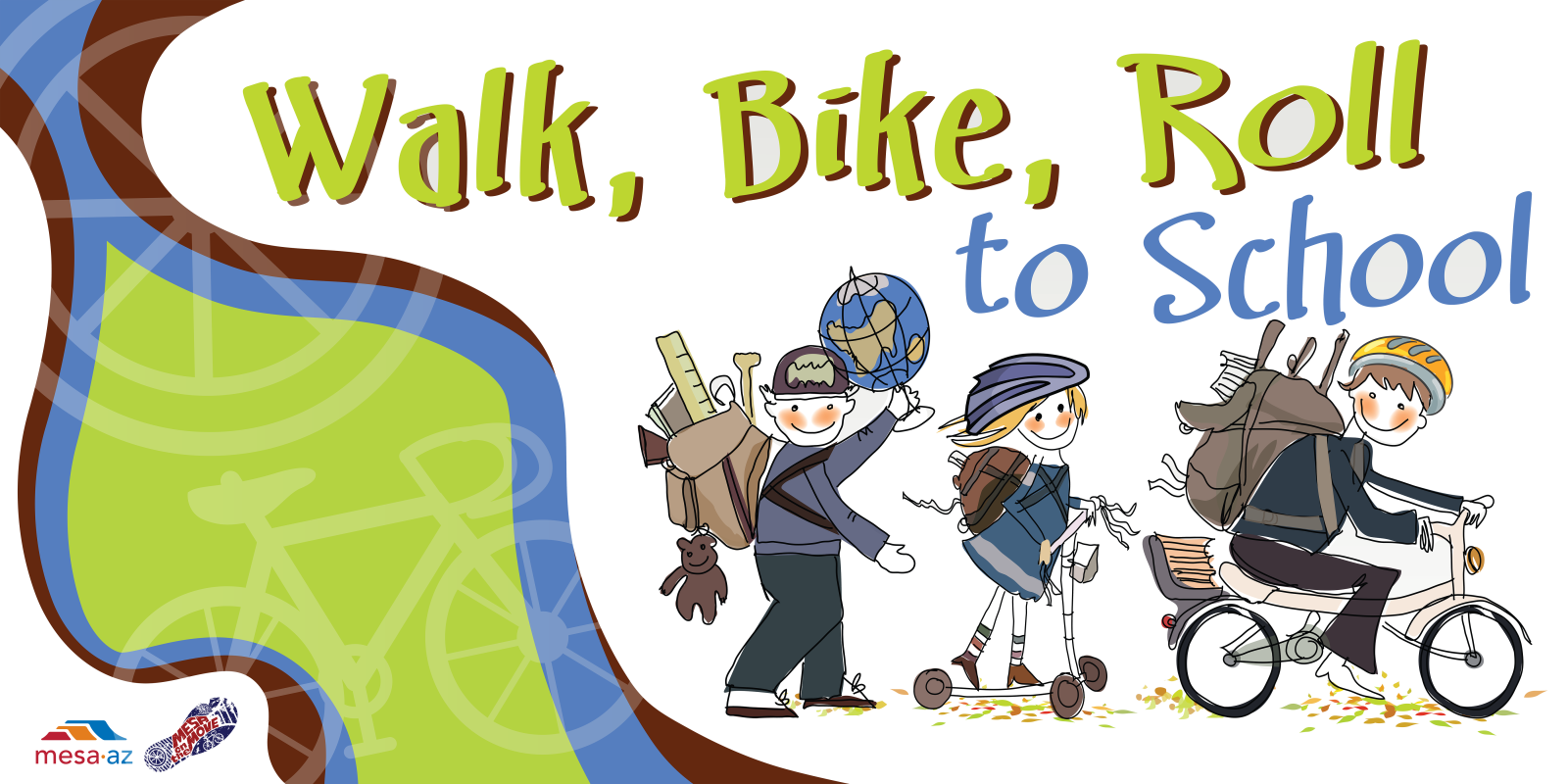Walk_Bike2School Graphic