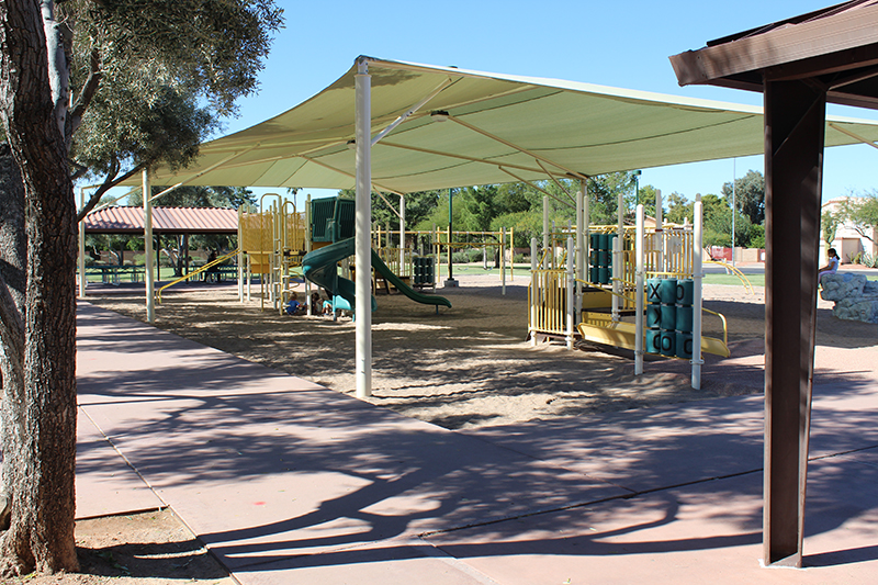 City of Mesa Ranch Del Mar Park Shade Structure and Playground