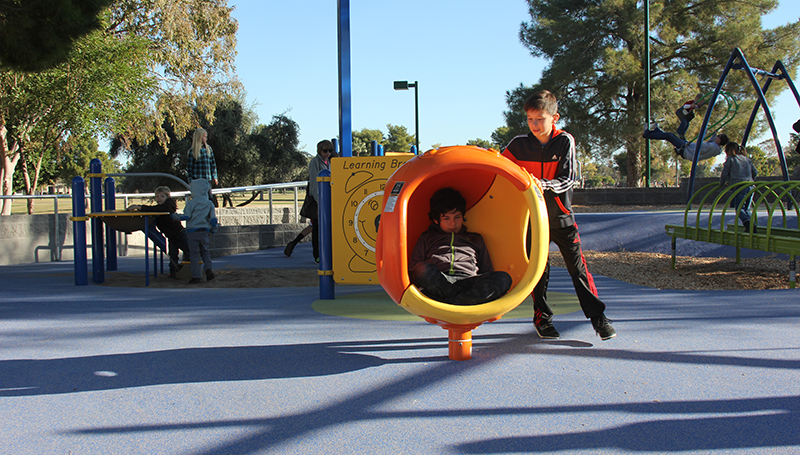 Dobson Ranch Park Playground Cocoon