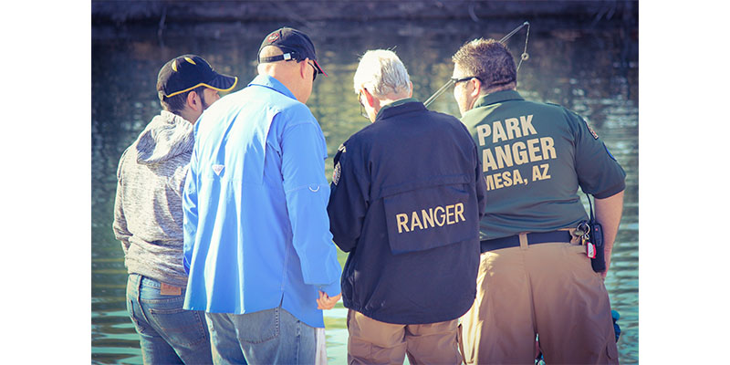 Park Rangers Fishing Clinic 1