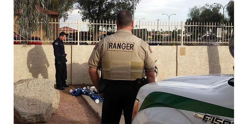 Ranger and Police Officer