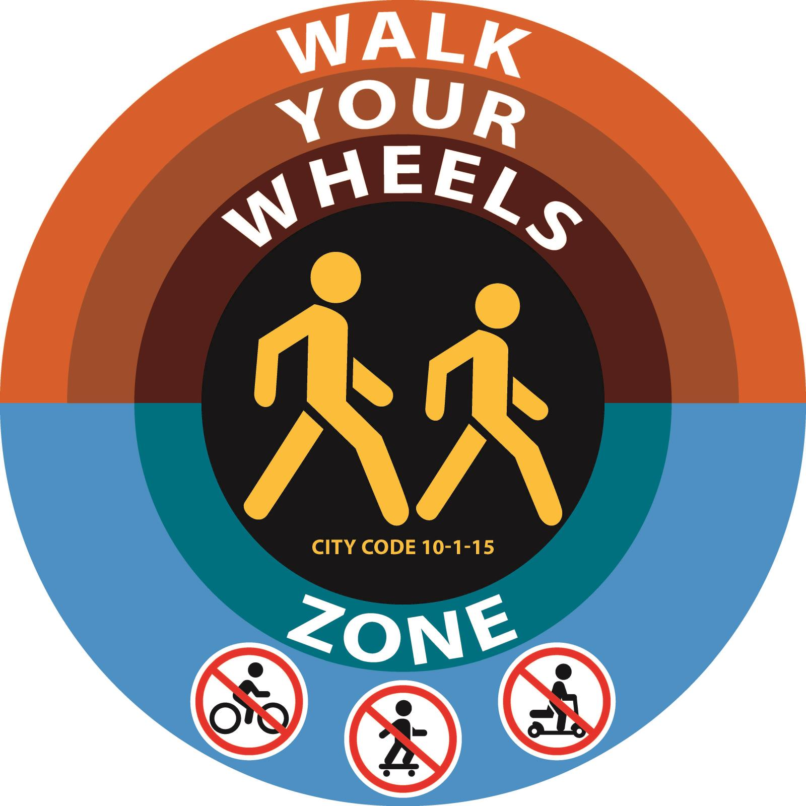 Walk Bike Sign