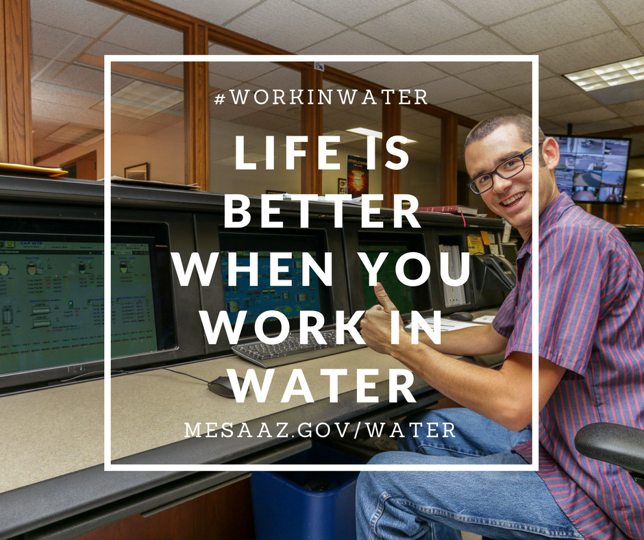 life is better when you work in water