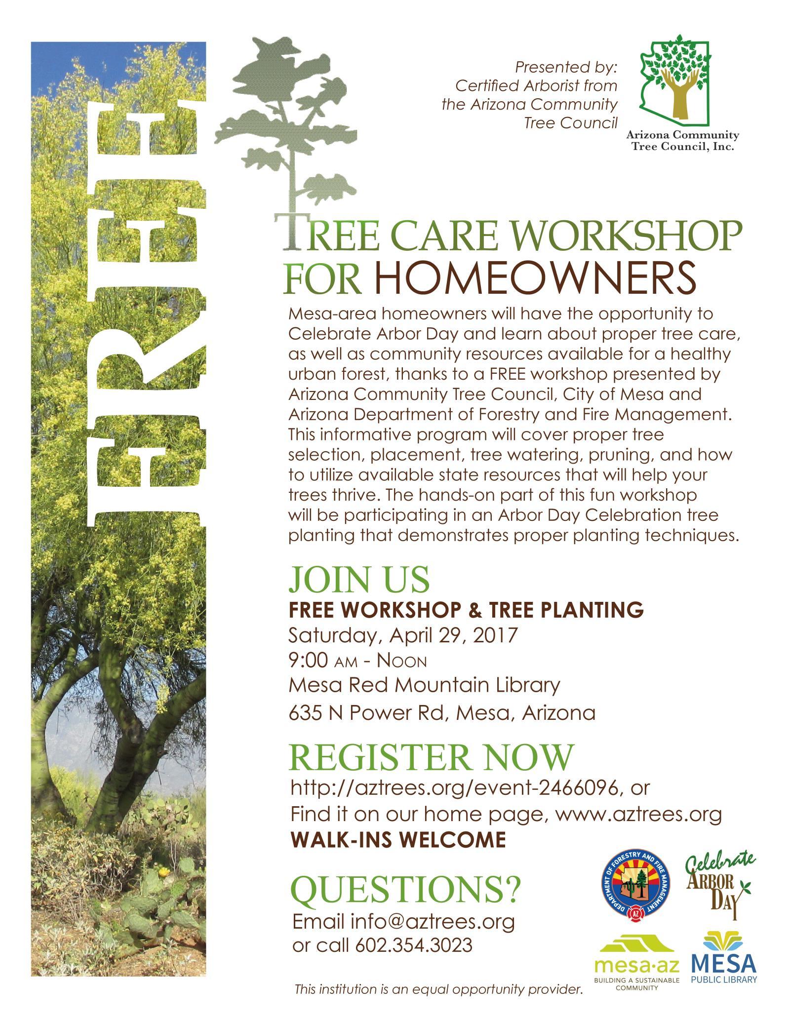 Arbor Day | City of Mesa