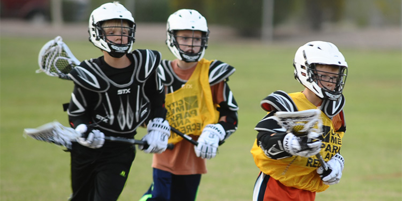 Mesa Youth Sports Kids Playing Lacrosse