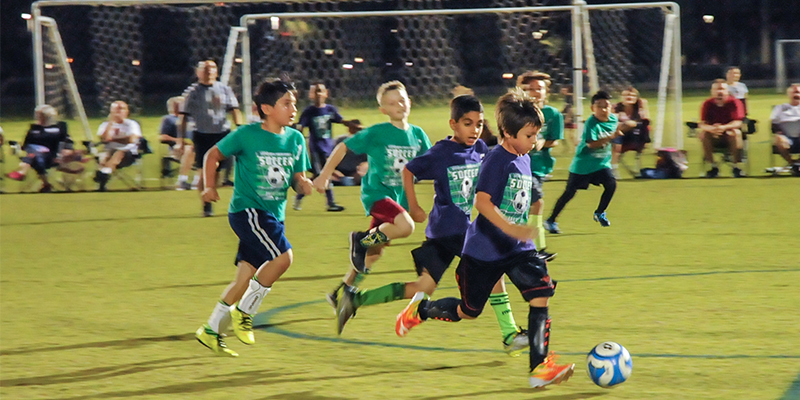 Mesa Youth Sports Kids Playing Soccer