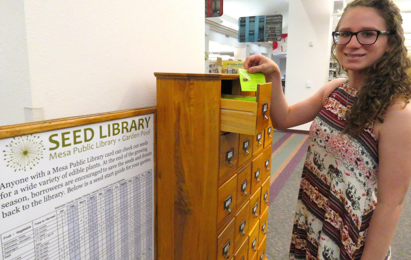 Seed Library at RM