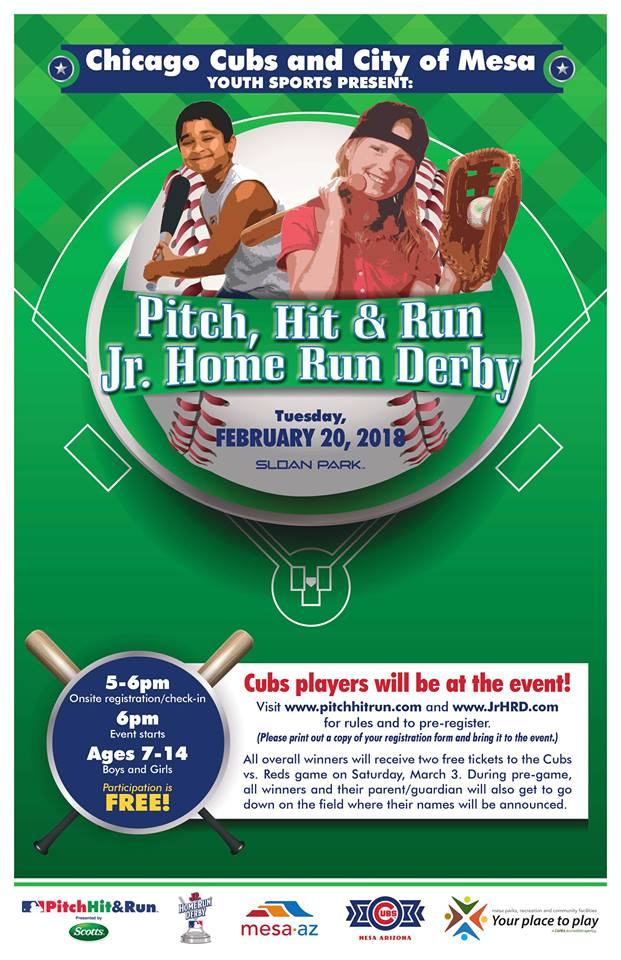pitch hit and run sloan park mesa feb 20