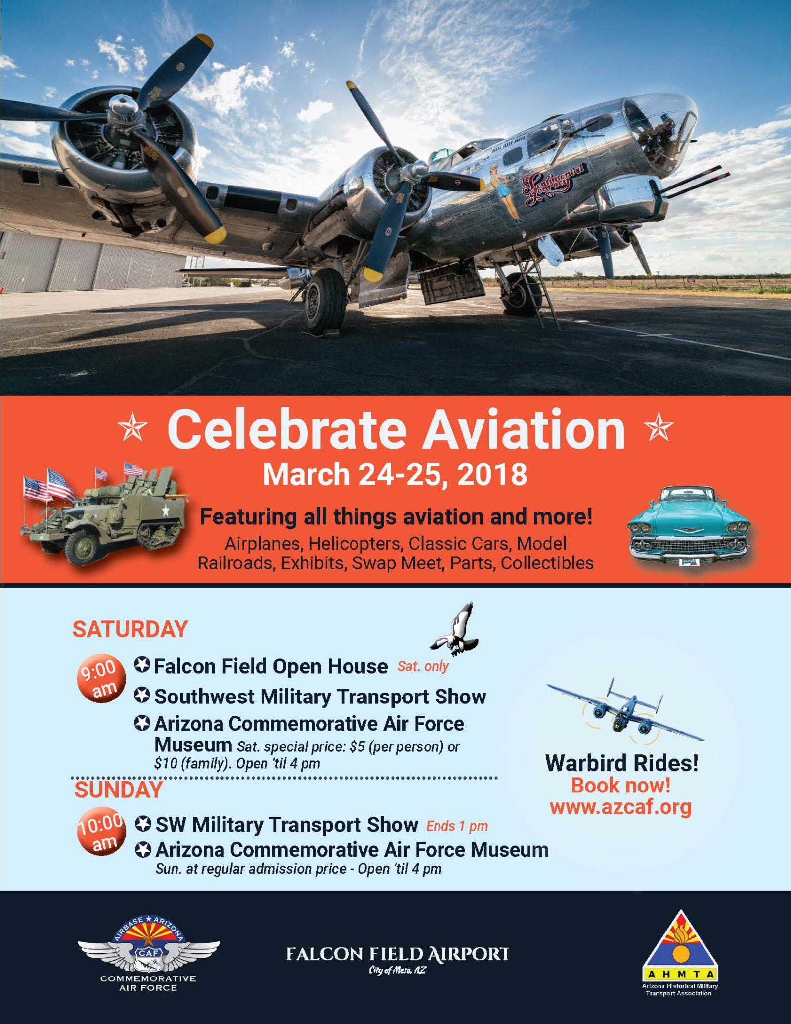 Commemorative Air Force, Falcon Field Open House, Airport Open House, Open House