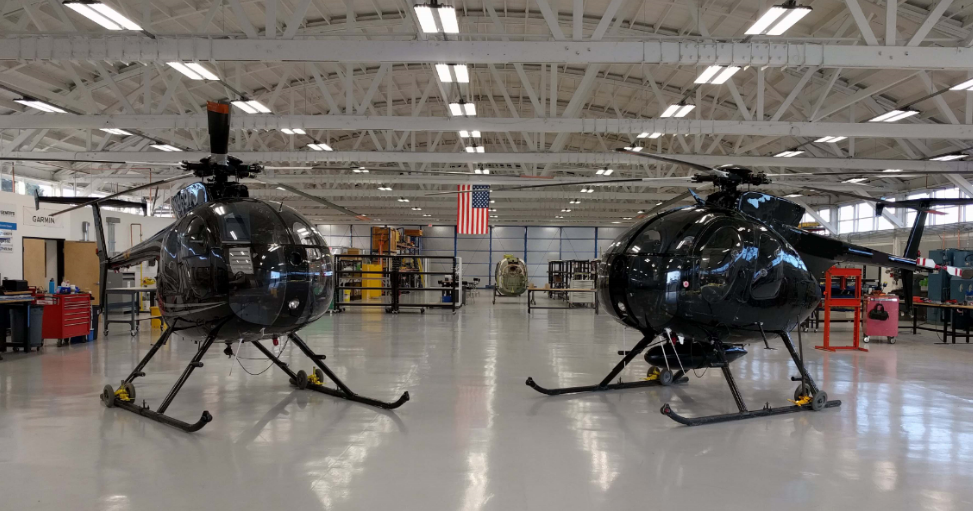 Q2 precision helicopter