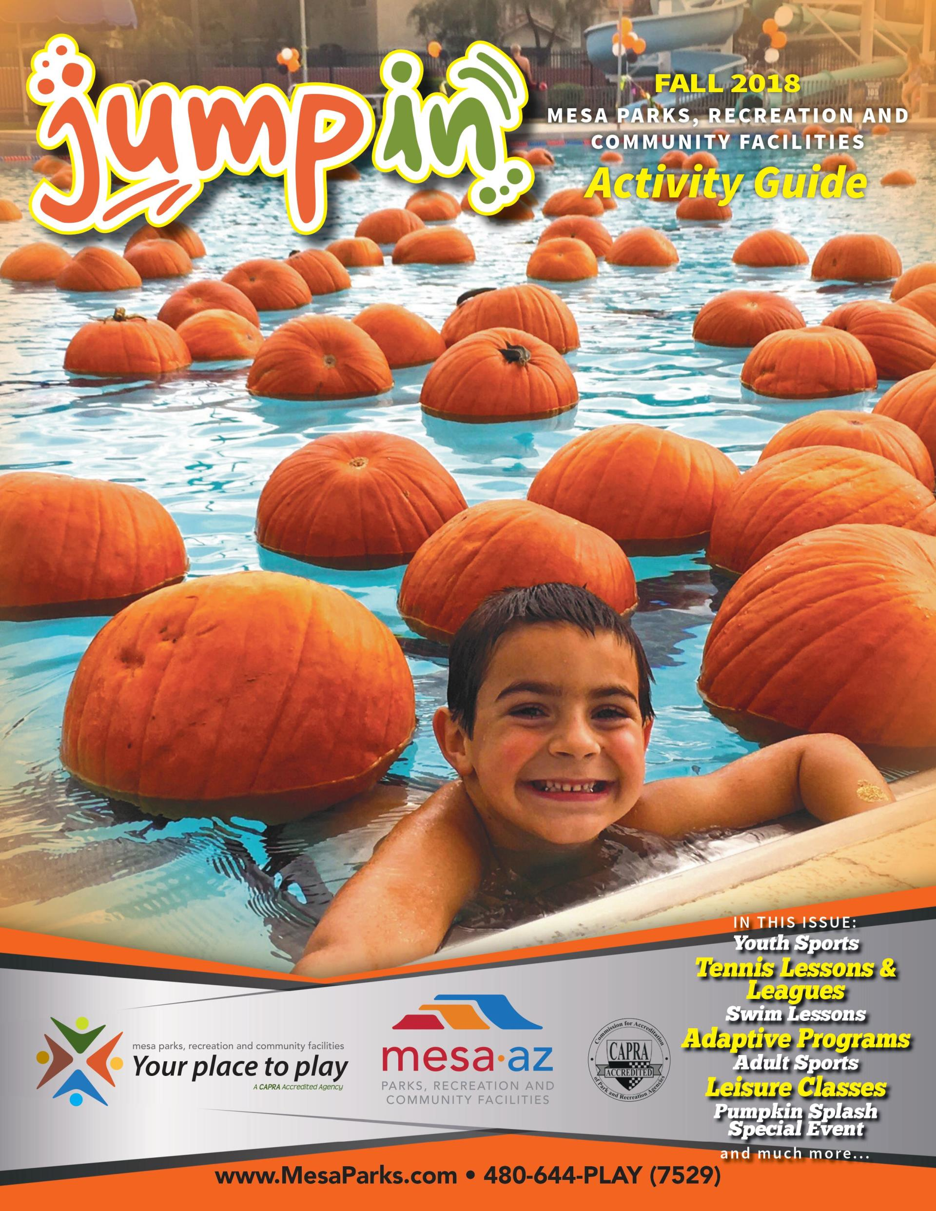 Fall Activity Guide Mesa Parks and Recreation