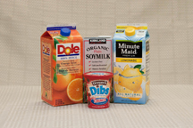 Picture of juice cartons