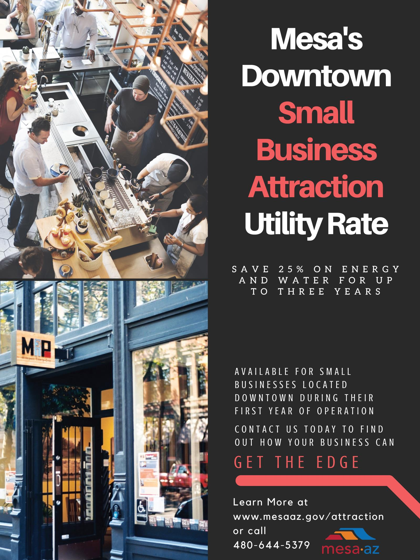 Business Attraction Utility Rates