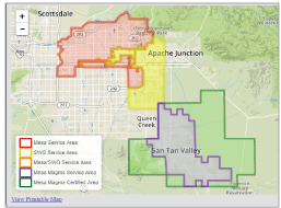 Maps City Of Mesa