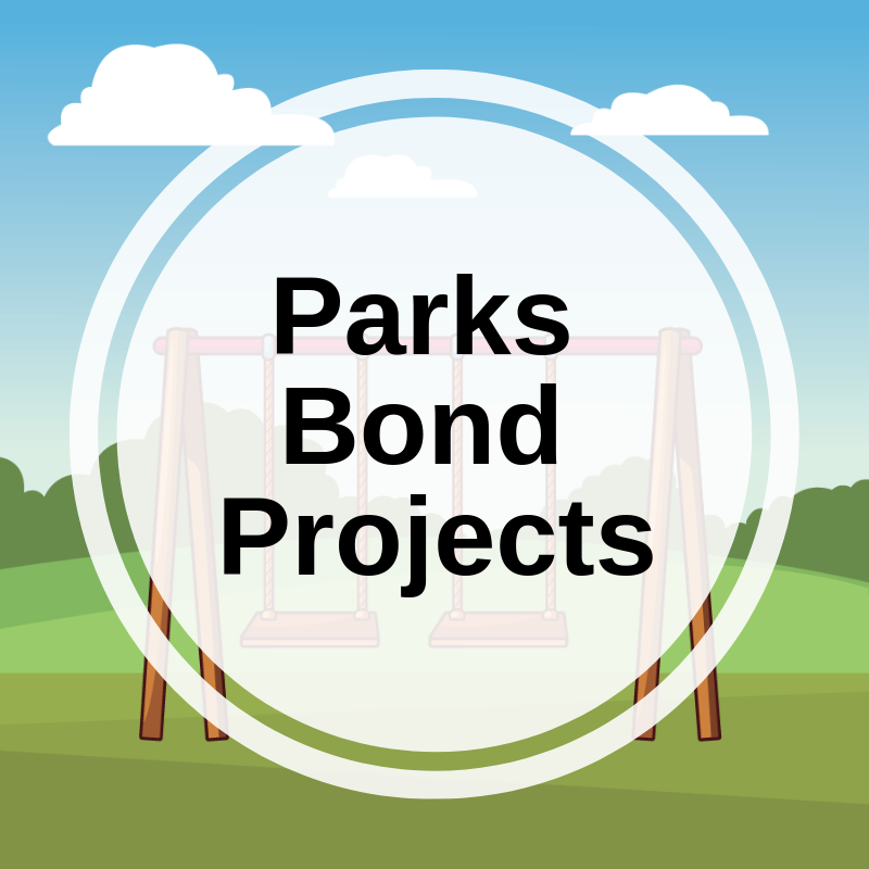 Parks Bond Projects link