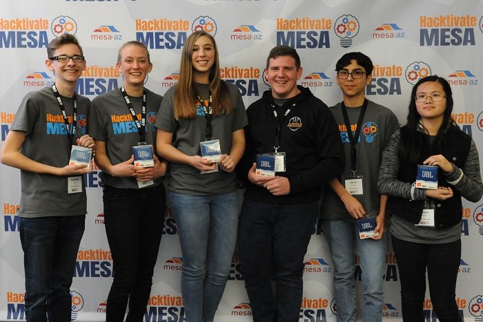HackRabbits MesaHS Innovation.Winners
