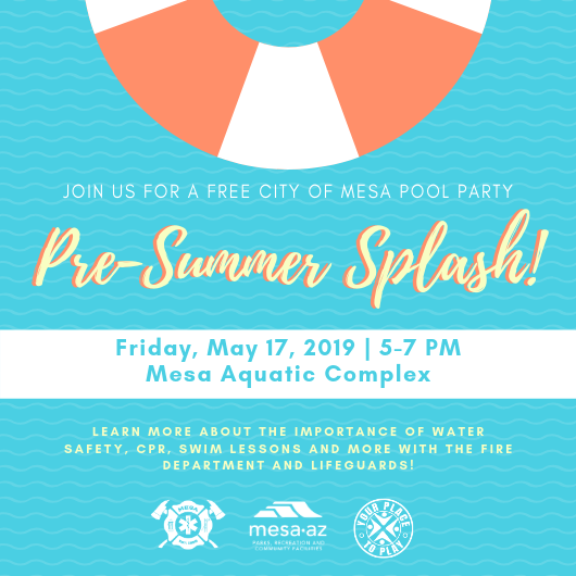 City of Mesa Aquatics - pre-summer splash event