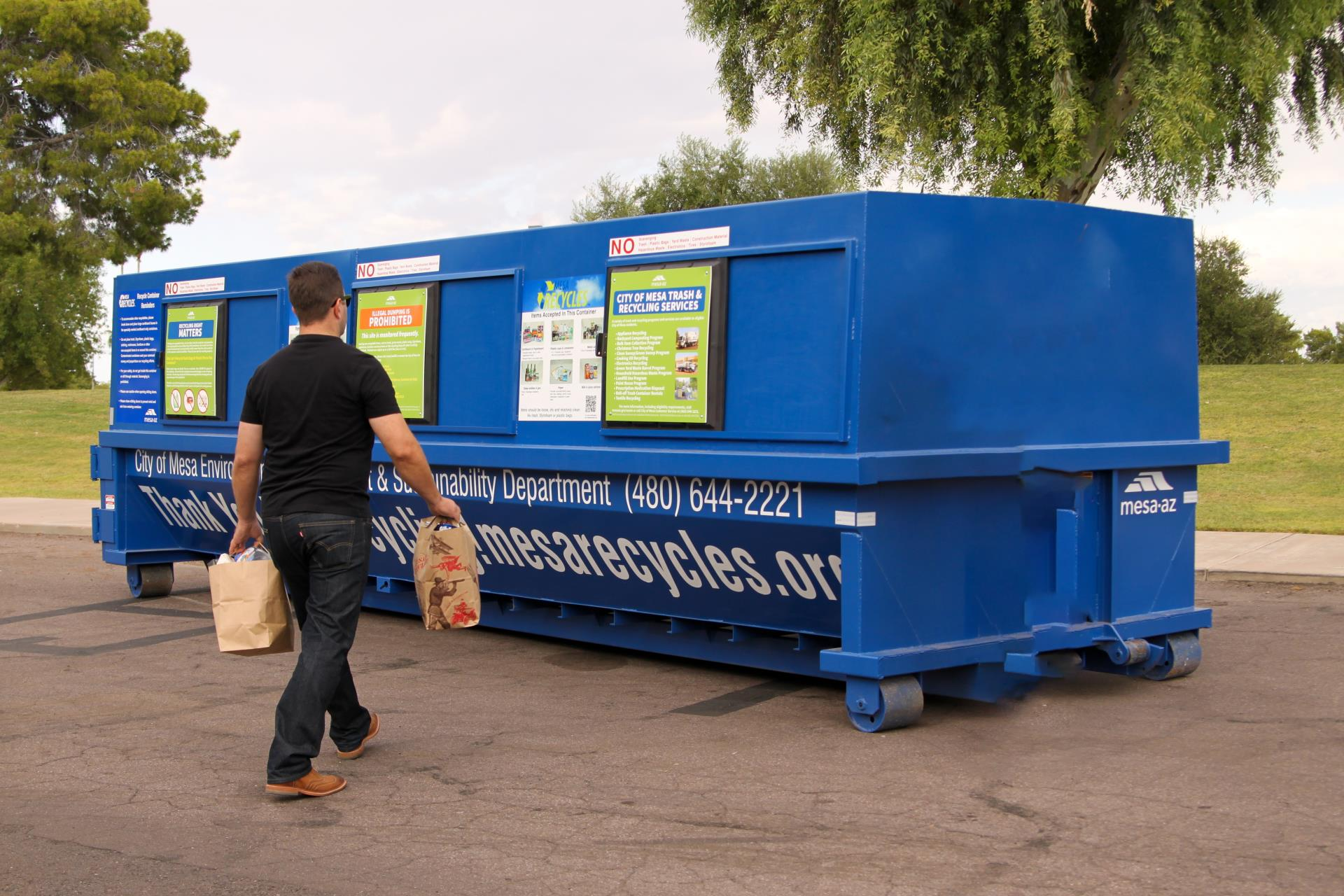 Drop-off Recycling Centers | City of Mesa