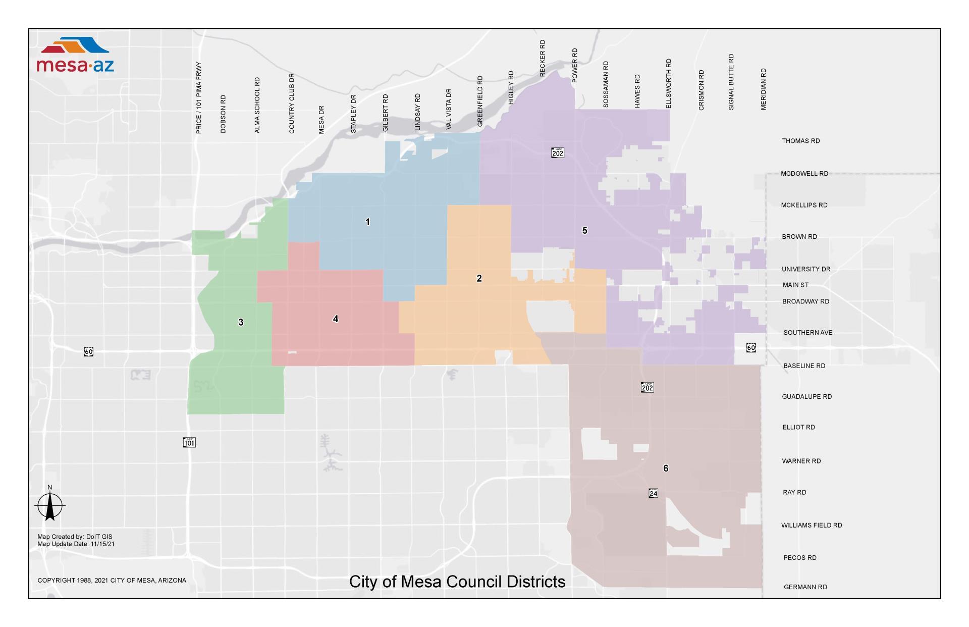 Mayor Council City Of Mesa