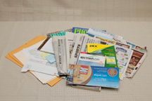 Picture of recyclable paper