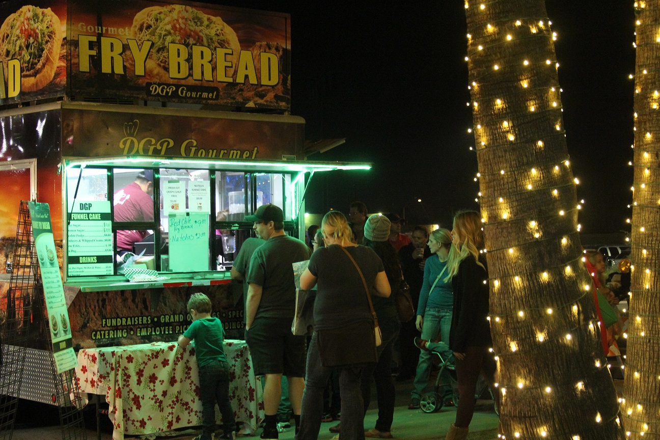 Mesa Feastival Forest Gourmet Food Trucks at Pioneer Park