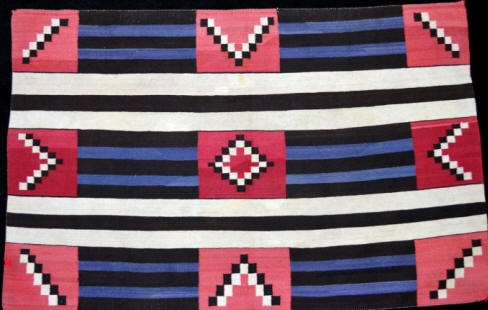 Third Phase Variant Navajo Chief's Blanket