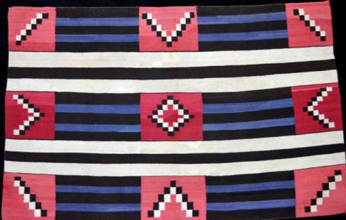 Third Phase Variant Navajo Chief's Blanket